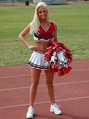 Dream Kelly cheerleader softcore strip