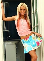 Petite Slutty Blonde Strips Exposing Every Part Of Her Body Teen Porn Pix