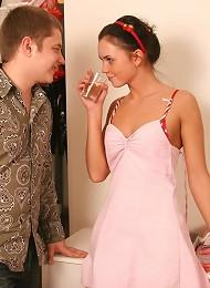Playful Teen Couple Get Busy Fucking Teen Porn Pix