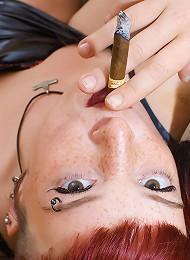 Sexy Smoking Fetish With Goth Girl Marixa Teen Porn Pix