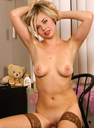 Hot Blonde Chick In See Through Top Teen Porn Pix