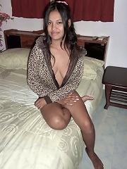 Dark big tit Thai