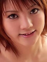 School Girl Risa Tsukino Strips