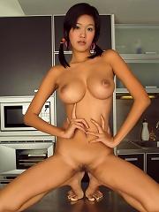Perfect breasts on bangkok sex kitten irene fah