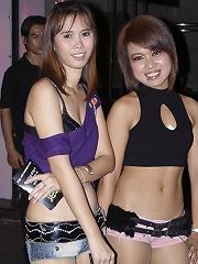 Wild Thai girls