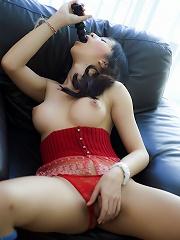 Curvy Ladyboy anal