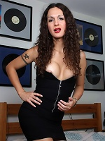 Irresistible Nicole Montero seducing with her beauty