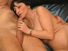 DrTuber Video - Amateur Granny Blowjob