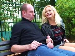 BravoTube Video - Imagine Getting A Steamy Handjob At The Park