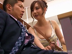 BravoTube Video - Incredible Shiori Ihara Gets Her Pussy Licked In The Library