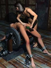 Ladylove gets pleasure and deals with Ninja
