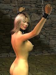 Virgin 3D Elf Princess getting sperm sprayed